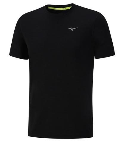 Футболка для бега мужская Mizuno Impulse Core Tee черная