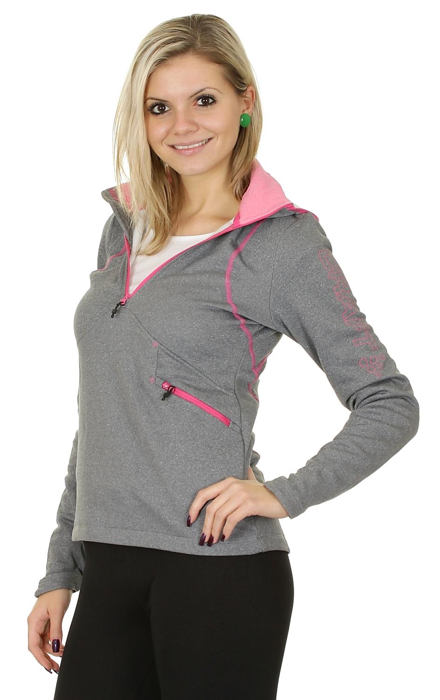 Толстовка Craft Active Logo Hood женская grey - 3
