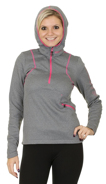Толстовка Craft Active Logo Hood женская grey - 5