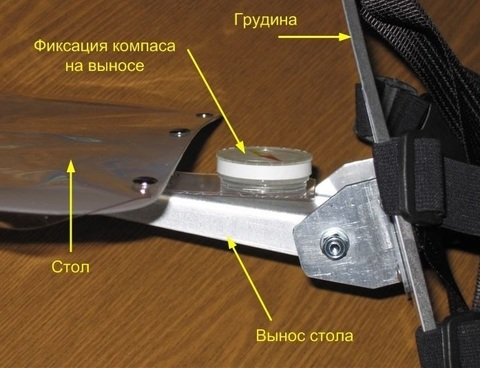 Fishian Polaris A4 планшет для лыжного ориентирования
