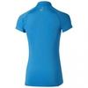 Asics SS 1/2 Zip Top футболка для бега женская синяя - 4