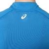 Asics SS 1/2 Zip Top футболка для бега женская синяя - 3