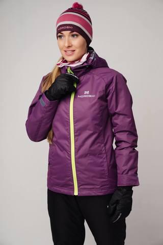 Nordski Motion 2020 утепленная куртка женская фиолетовая