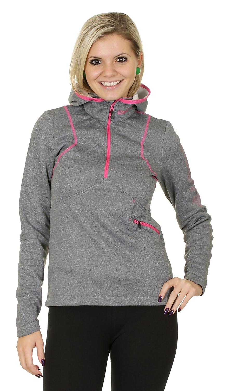 Толстовка Craft Active Logo Hood женская grey - 2