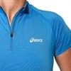 Asics SS 1/2 Zip Top футболка для бега женская синяя - 2