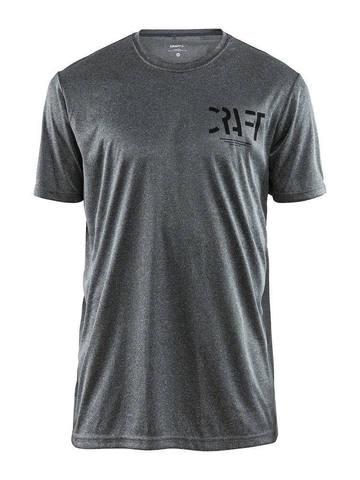 Craft Eaze SS Graghic футболка спортивная мужская grey