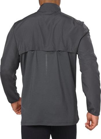 Куртка для бега мужская Asics Running Jacket серая