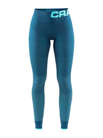 Craft Warm Intensity термобелье женское кальсоны голубые