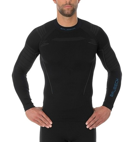 Brubeck Thermo Nilit Heat термобелье мужское рубашка черная