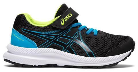 Asics Gel Contend 7 Ps кроссовки для бега детские черные