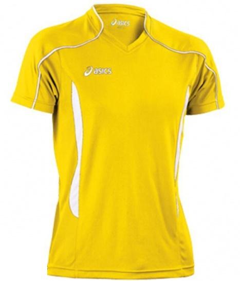 Волейбольная футболка Asics T-shirt Volo мужская yellow