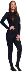 Nordski Warm женский комплект термобелья черный