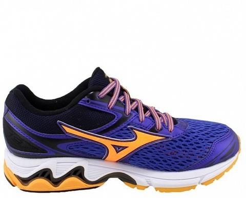Беговые кроссовки женские Mizuno Wave Inspire 13 темно-синие