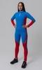 Nordski Jr Active детский лыжный комбинезон синий-красный - 1