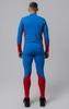 Nordski Jr Active детский лыжный комбинезон синий-красный - 4