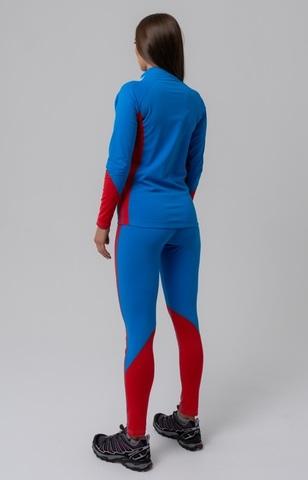 Nordski Jr Active детский лыжный комбинезон синий-красный