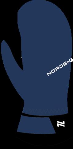 Nordski Jr Arctic Membrane детские варежки navy