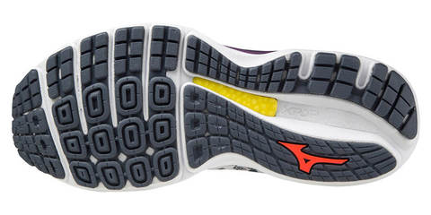 Mizuno Wave Sky 4 кроссовки для бега женские серые