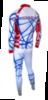 Olly Bright Russia лыжный комбинезон унисекс - 2