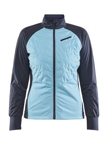 Craft Storm Balance лыжная куртка женская св.голубой-серый