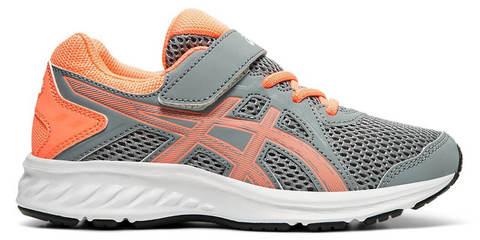 Asics Jolt 2 Ps кроссовки для бега детские серые-коралловые