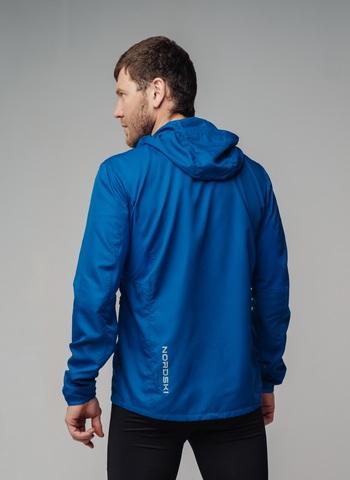 Nordski Run костюм для бега мужской blue-red