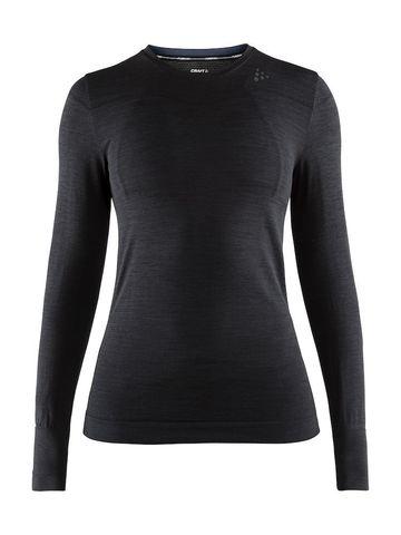 Craft Fuseknit Comfort термобелье рубашка женская black