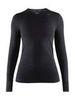 Craft Fuseknit Comfort термобелье рубашка женская black - 1