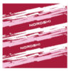 Nordski Stripe многофункциональный баф wine - 1