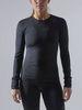 Craft Fuseknit Comfort термобелье рубашка женская black - 2