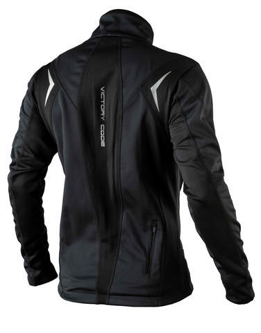 Victory Code Go Fast разминочная лыжная куртка black