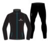 Nordski Motion Premium беговой костюм женский Black-Blue - 4