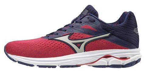 Mizuno Wave Rider 23 беговые кроссовки женские синие-красные