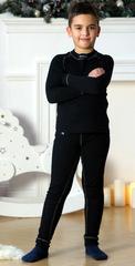 Nordski Warm Kids детский комплект термобелья черный