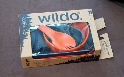 Wildo Camp-A-Box Complete набор туристической посуды pitaya pink