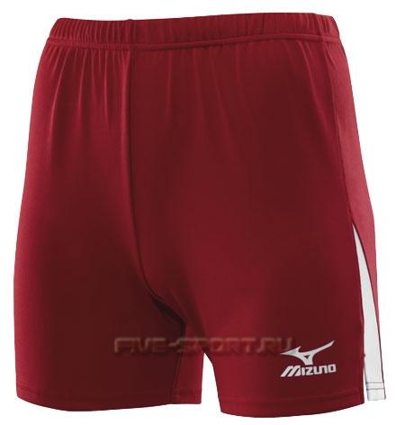 Шорты волейбольные Mizuno W's Trade Short 362 red