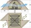 Tengu Mark 10T туристическая палатка четырехместная - 2