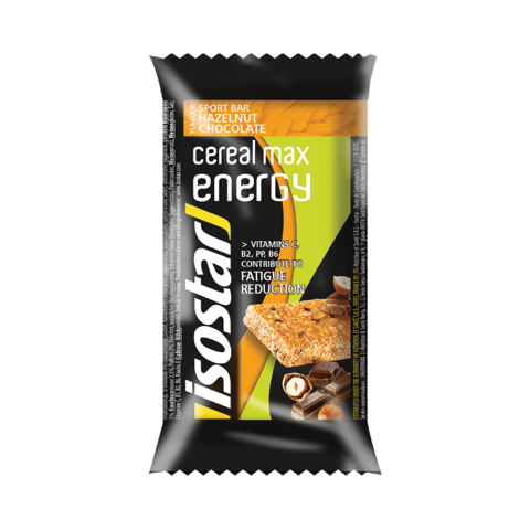 Isostar Cereal Max Energy энергетический батончик шоколад