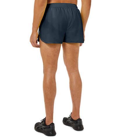 Asics Core Split Short шорты для бега мужские темно-синие