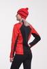 Nordski Premium Active разминочный лыжный костюм женский Black-Red - 3