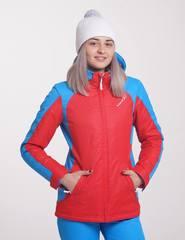 Nordski National женская утепленнаая куртка  красная