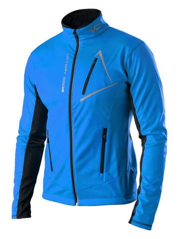 Victory Code Dynamic разминочный лыжный костюм с лямками blue