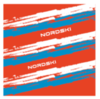 Nordski Stripe многофункциональный баф red-blue - 2