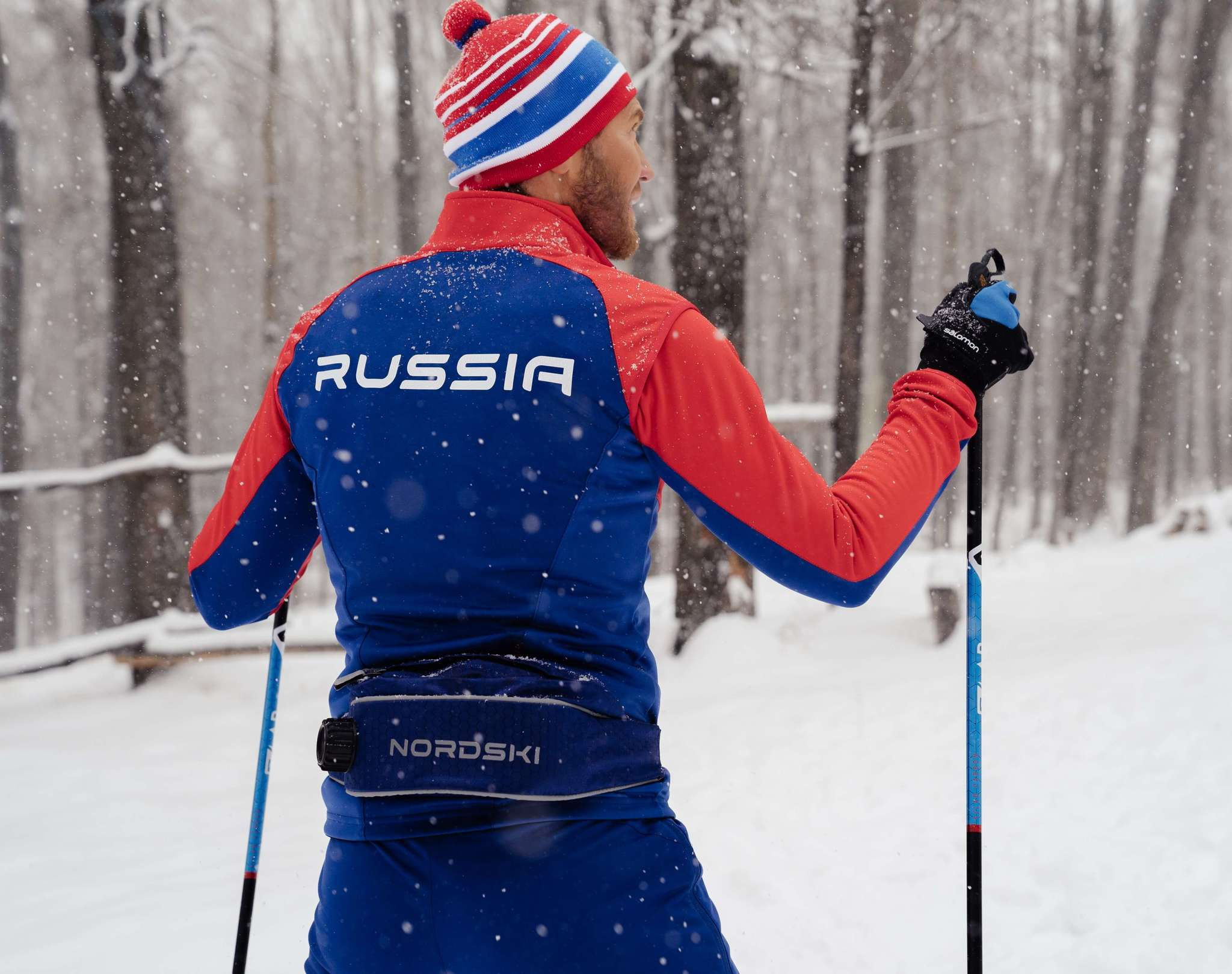 Nordski Premium Patriot лыжный костюм мужской - 17