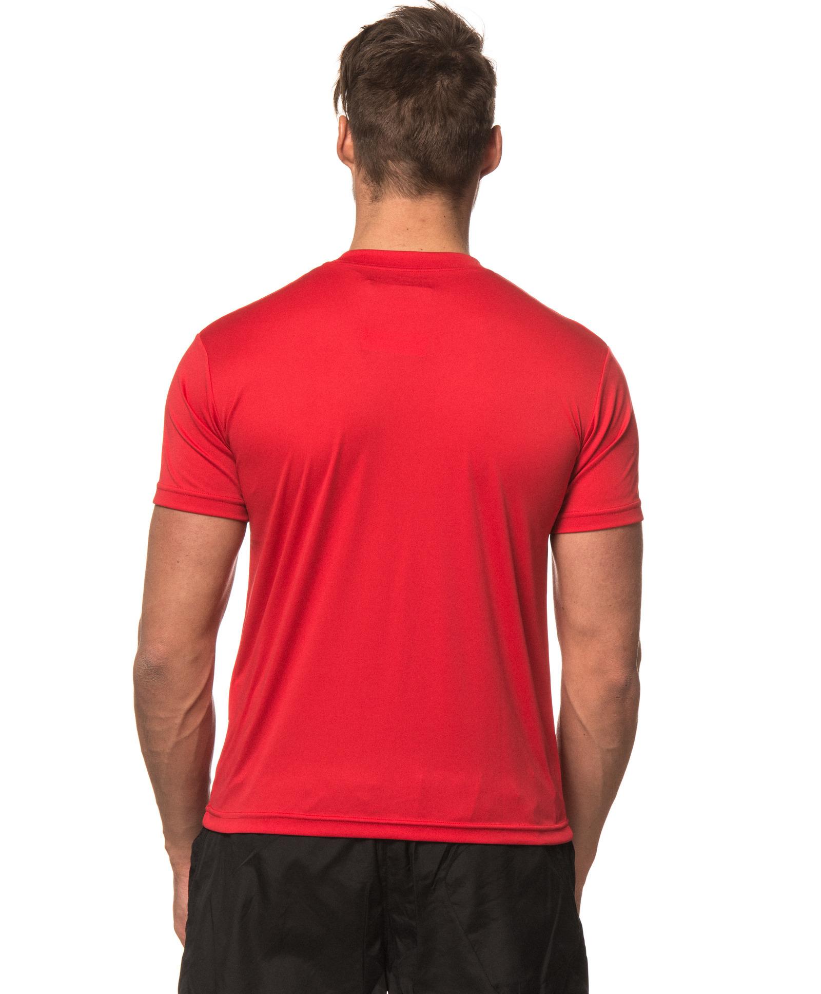 Футболка Craft Active Run Logo Tee мужская red - 3