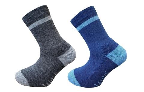 Janus детские термоноски blue-grey