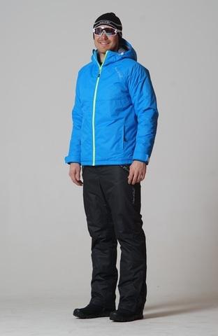 Nordski Motion мужской зимний лыжный костюм blue-black