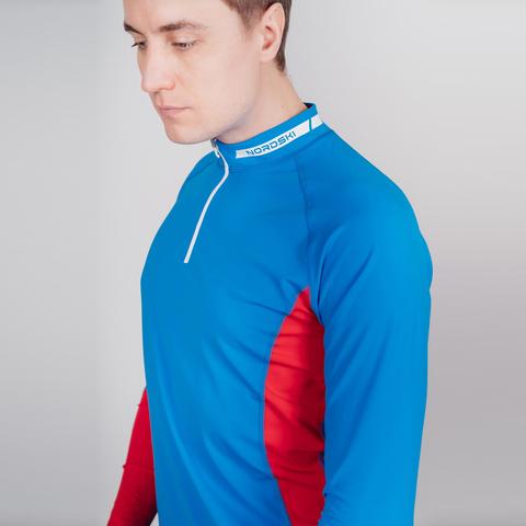 Nordski Base лыжный гоночный комбинезон blue-red