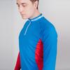 Nordski Base лыжный гоночный комбинезон blue-red - 4