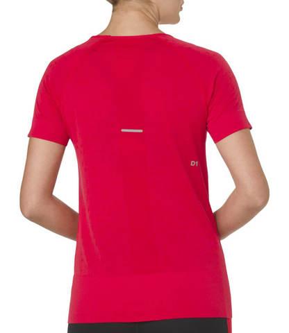 Asics Seamless Ss Texture  футболка для бега женская розовая